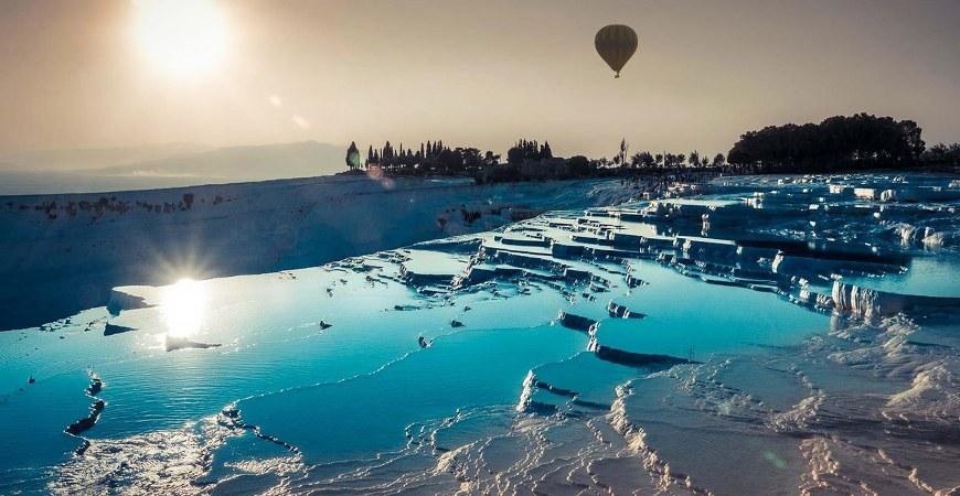Istanbul to Cappadocia and Pamukkale Tour