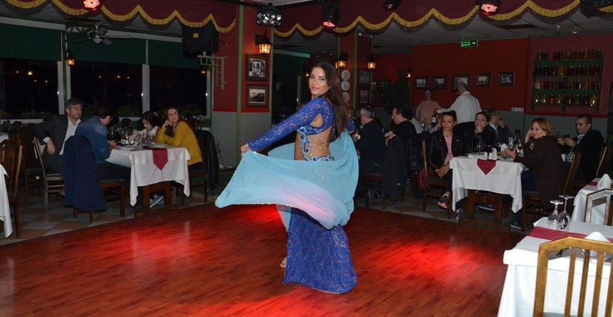 Dinner at Istanbul PAsha Turkish Night Show