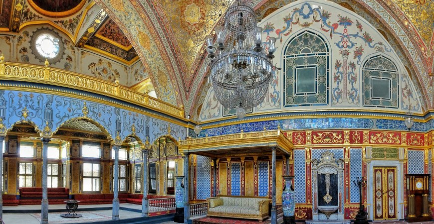 Travel to Istanbul Topkapi Palace Museum