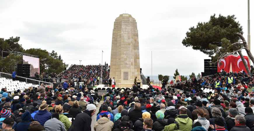 Anzac Day in Gallipoli