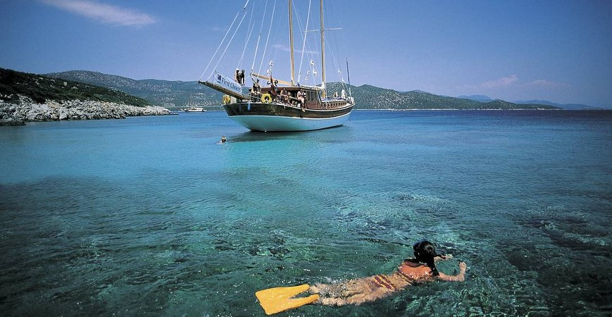 Blue Cruise From Olympos to Fethiye