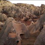 Goreme Town in Cappadocia Turkey