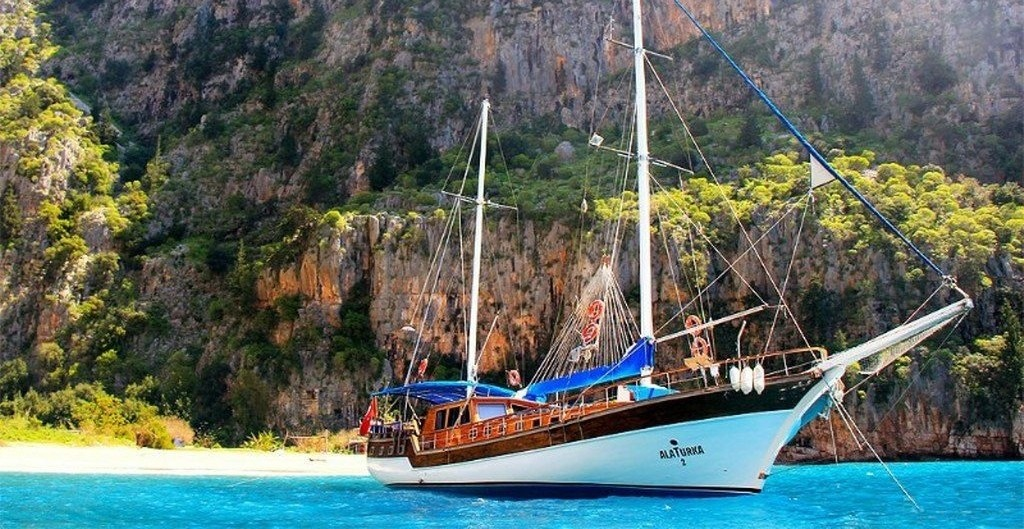 Our Blue Cruise From Fethiye to Olympos