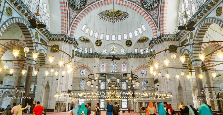 Abu Ayyub Al Ansari and Suleymaniye Mosque Tour