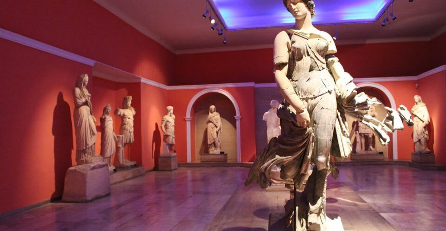The Museums of Antalya Turkey