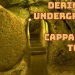 Derinkuyu Underground City in Cappadocia Turkey