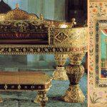 The Golden Cradle in Topkapi Palace Museum