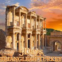 5 Days Triangle of Turkey