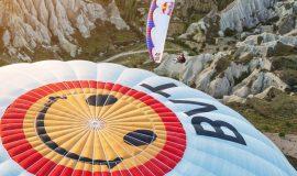 Paragliding in Cappadocia